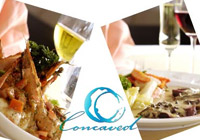 Concaved Beach Restaurant, Phuket Thailand
