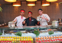 JW Japanese Sunday Brunch at Kabuki Japanese Cuisine Theatre Restaurant