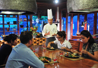 Chef's Table at Ginja Taste Restaurant, JW Marriott Phuket Resort & Spa
