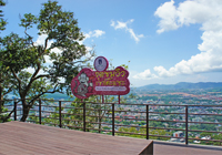 Khao Toh Sae View Point in Phuket town