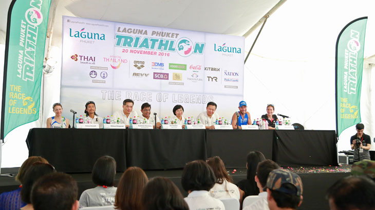 Press Conference  -  2016 Laguna Phuket Triathlon