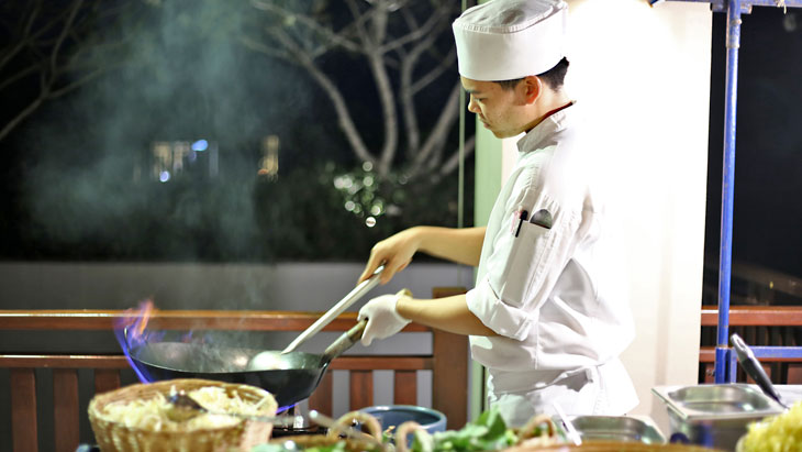 """Thai Night Buffet"" the amazing flavors of Thailand at Nai Yang Beach - Phuket"