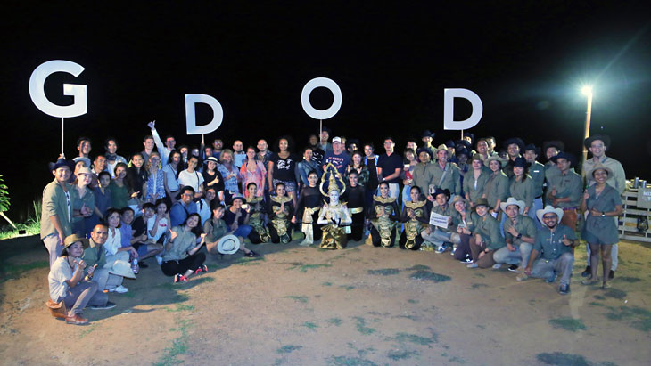 GDOD celebrated at Samed Nang Chee View Point