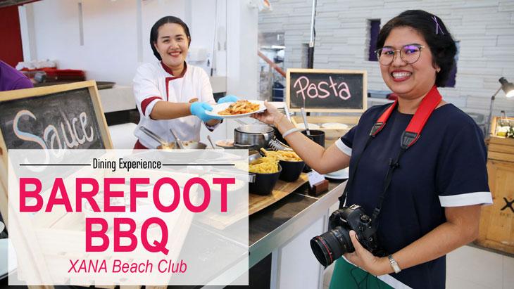 Dining Experience - Barefoot BBQ at XANA beach club