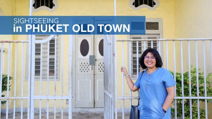 Sightseeing in Phuket Old Town - Tourist attraction in Phuket