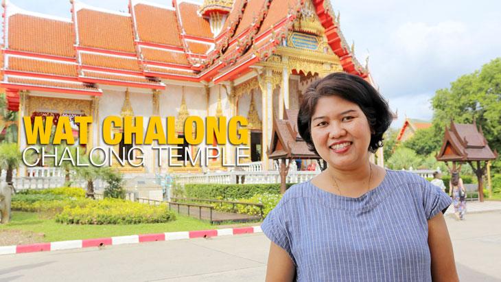 Chalong Temple or Wat Chalong, Phuket