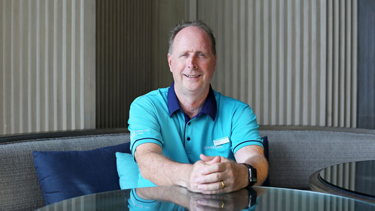 Interview with Trevor May - General Manager of Le Méridien Khao Lak Resort & Spa