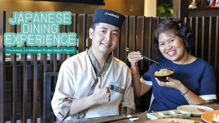 Japanese dining experience at the Ariake, Phuket