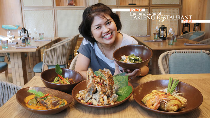 Discovery the new zone of Takieng Restaurant, Phuket