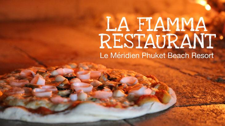 La Fiamma Restaurant, Le Méridien Phuket Beach Resort
