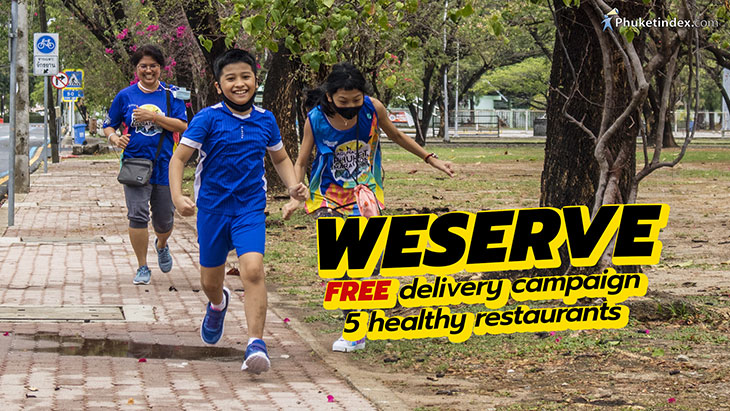 WESERVE - free delivery - 5 healthy restaurants